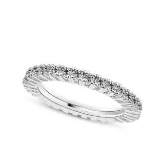 1.00 ct Mémoire Diamant Ring