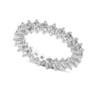 1.80 ct Mémoire Diamond Ring