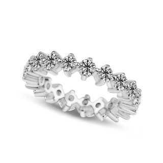 2.34 ct Mémoire Diamond Ring