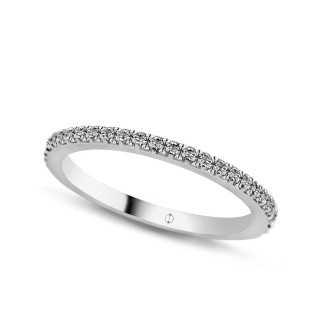 0.54 ct Mémoire Diamant Ring