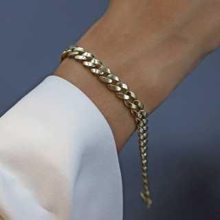 14 Karat Gold Glieder Armband