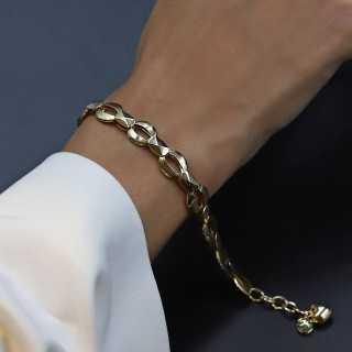 14 Karat Gold Design Armband