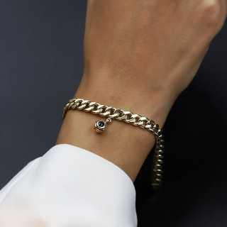 "14 Karat Gold Bracelet Evil Eye ""Nazar"""