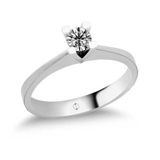 0.24 ct Solitaire Diamond Ring
