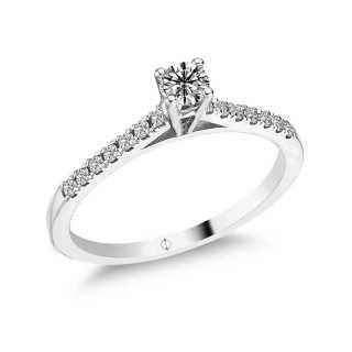 0.36 ct Solitaire Diamond Ring