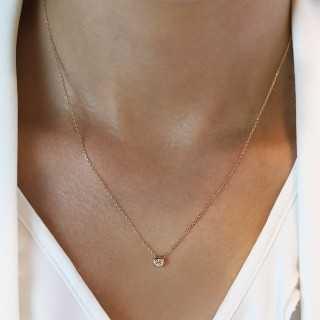 14 Karat Gold Halskette