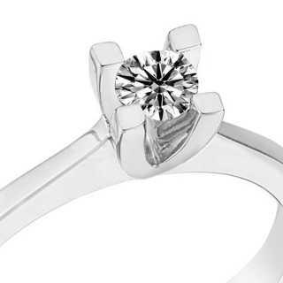 0.20 ct Solitär Diamant Ring