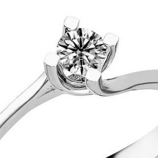 0.23 ct Solitär Diamant Ring