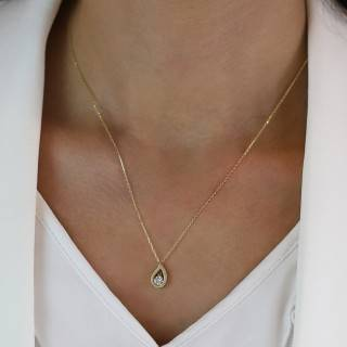 0.75 ct Fünfstein Diamant Ring