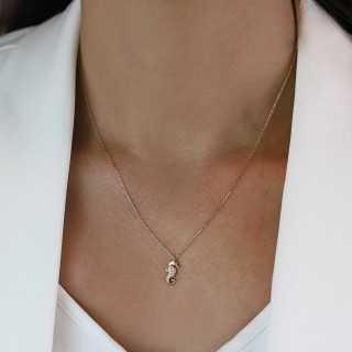 1.00 ct Fünfstein Diamant Ring