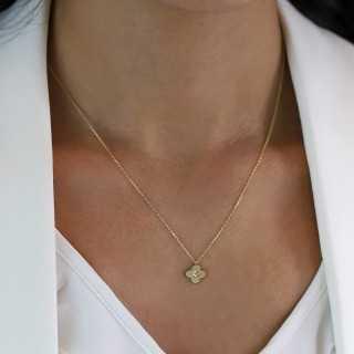 0.35 ct Fünfstein Diamant Ring