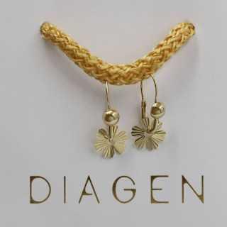0.60 ct Solitaire Diamond Stud Earrings