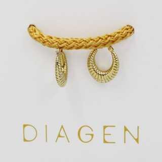 0.47 ct Baguette Diamant Ohrring