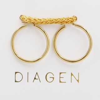 0.65 ct Baguette Diamant Ohrring