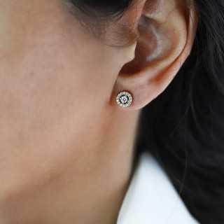 """0.09 ct """"Rose Cut Tropfenform"""" Diamant Ring"""