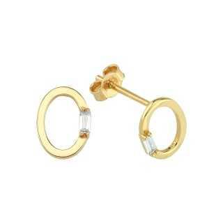 0.45 ct Solitär Diamant Halskette