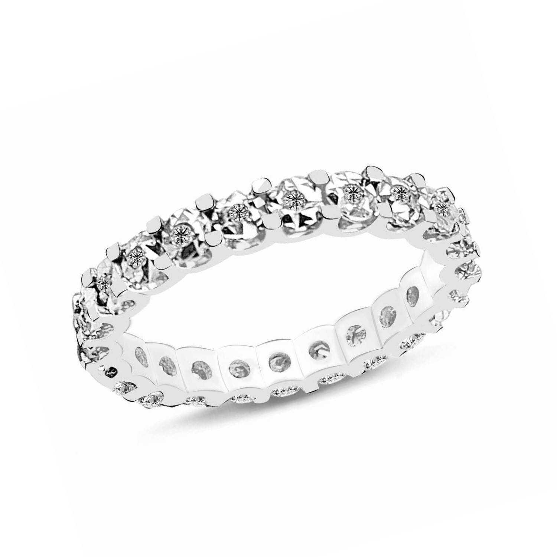 0.18 ct Mémoire Diamant Ring