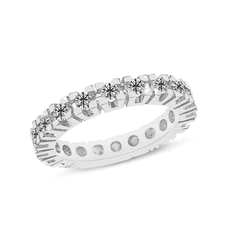 0.77 ct Mémoire Diamant Ring