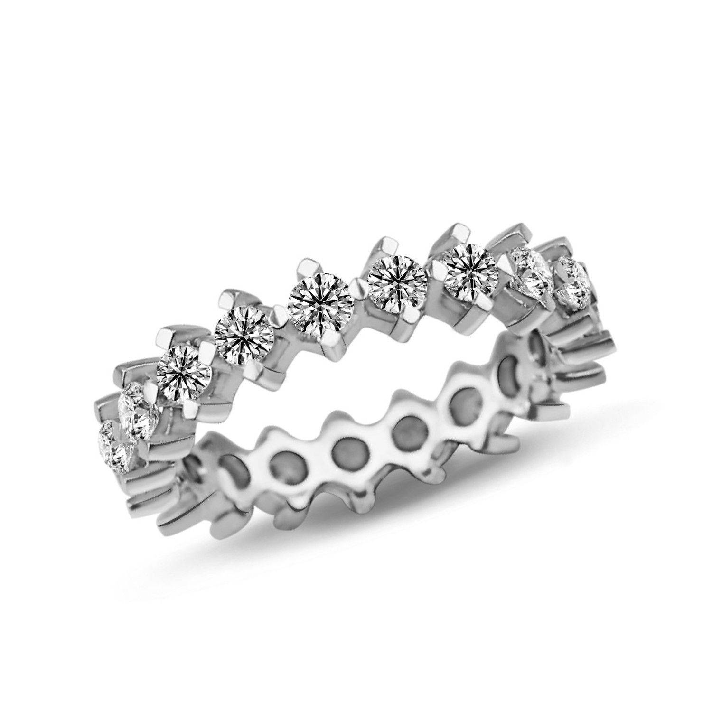 1.53 ct Mémoire Diamant Ring