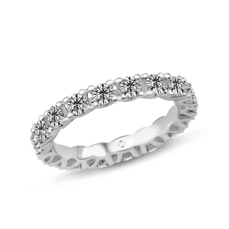 1.60 ct Mémoire Diamond Ring