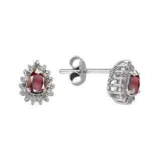 Rubin & Diamant Ohrstecker