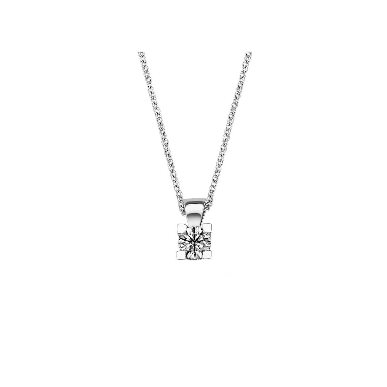 0.15 ct Solitaire Diamond Necklace