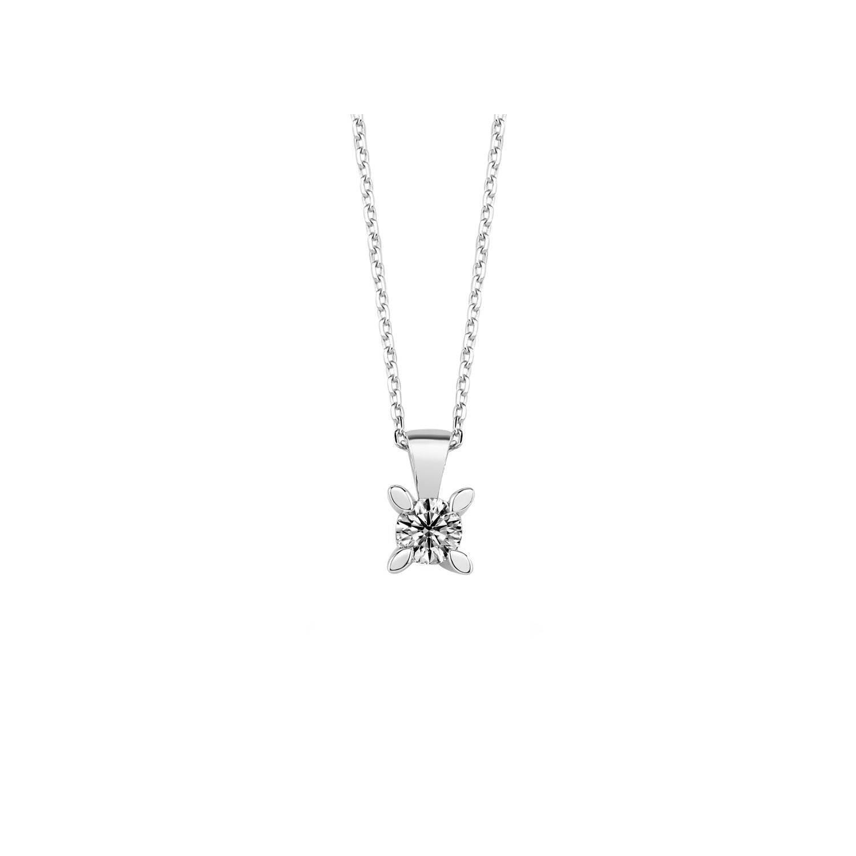 0.20 ct Solitaire Diamond Necklace