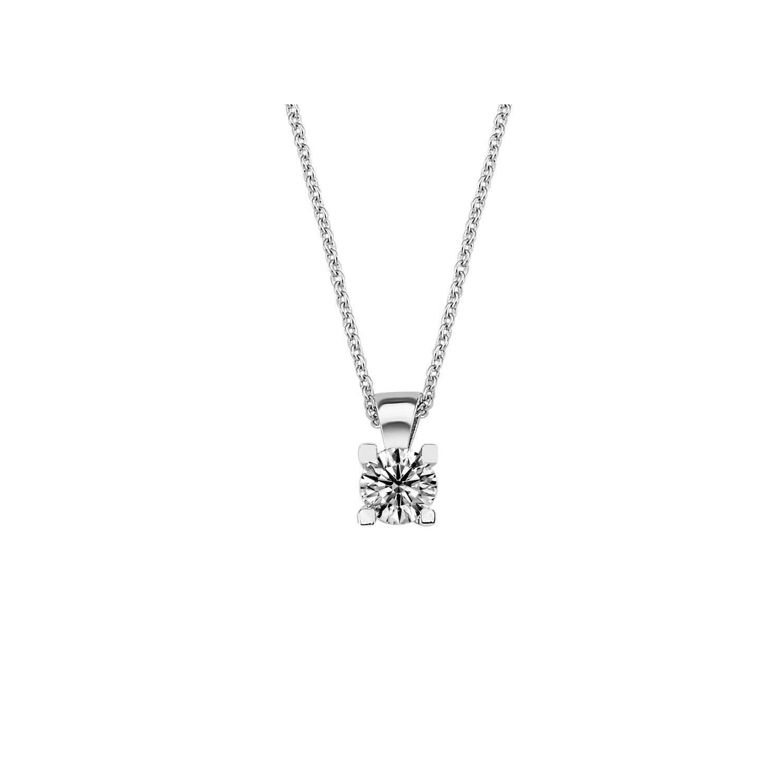 0.35 ct Solitaire Diamond Necklace