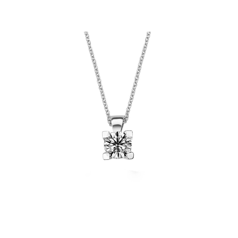 0.40 ct Solitaire Diamond Necklace