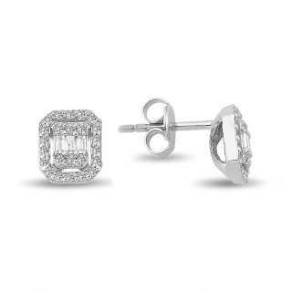 0.32 ct Baguette Diamond...
