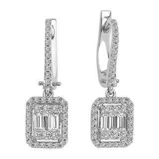 0.80 ct Baguette Diamond...