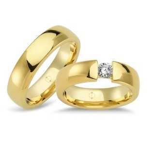 14 Karat Gold Men's Wedding Ring