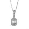 Baguette Necklaces